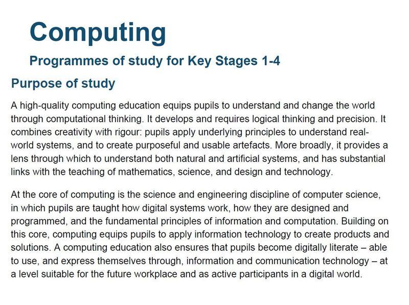 Computing PoS purpose